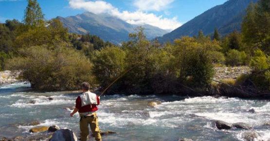Pêche en rivière dans l'Arc