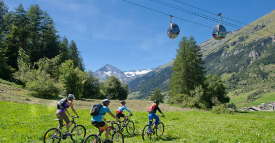 VTT et cyclisme à Val Cenis